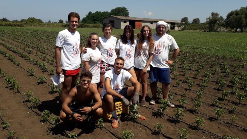 Polistena 1-7 luglio, campo di impegno e formazione